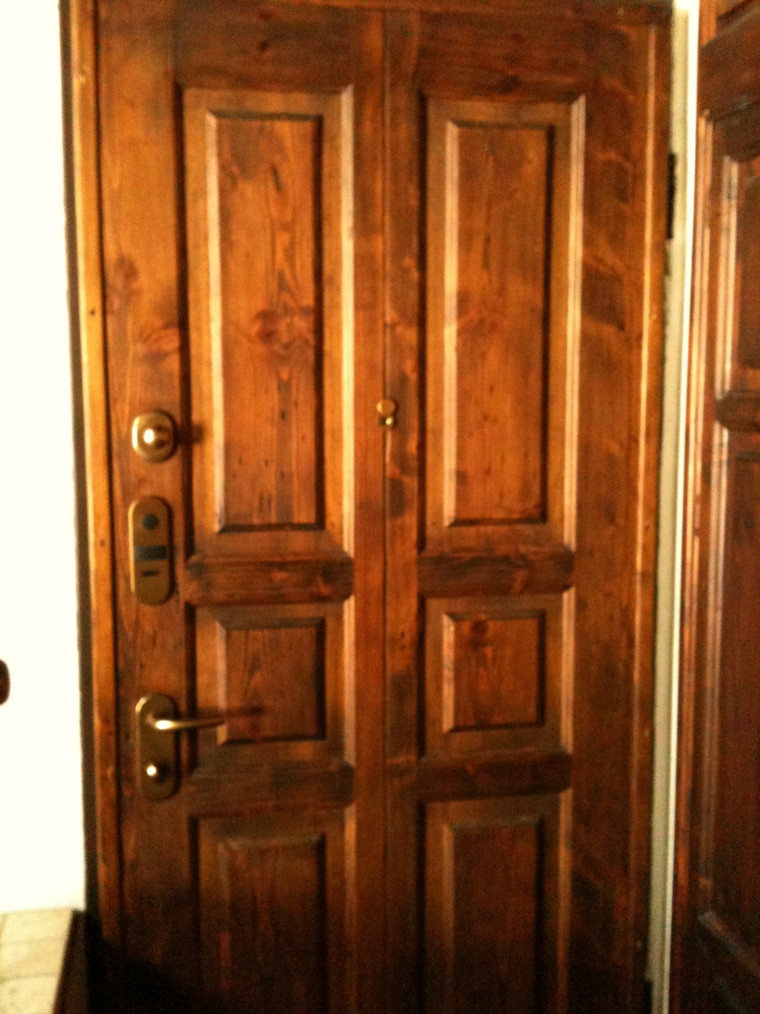 Pannello interno porta blindata