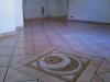 Decorazione su pavimento